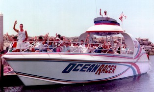 The Ocean Racer Is Seventy Feet Long And Eigh Wide Offers A One Of Kind Thrilling Safe Ride Holds 140 Pengers